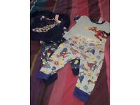 Two pairs of gap pyjamas 6-12 months