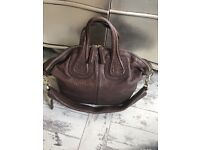 Givenchy nightingale textured leather handbag