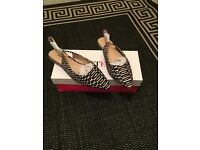 New in box size 5 flat shoes RRP £35!