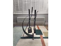 Iron fireplace companion set of 4 tools