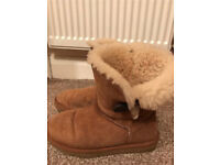 UGG boots 2 pairs and cleaning kit