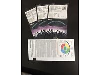 3 x tickets to see Anthony Joshua v Wladimir Klitschko