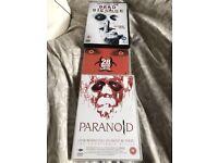 Batch of 3 horror DVDs
