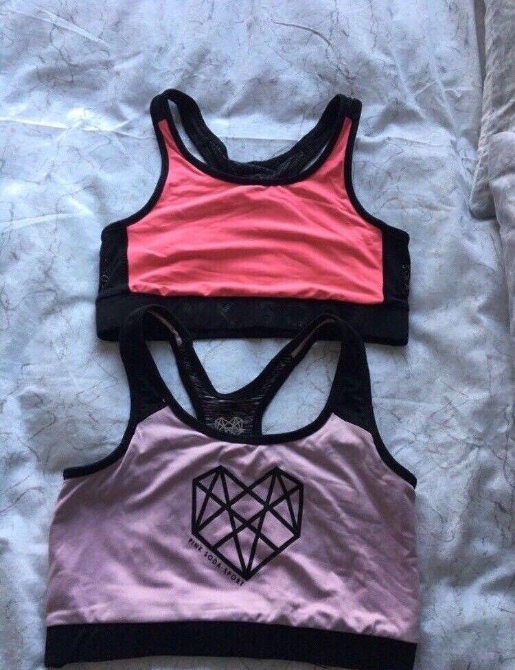 c9b58b8690ef2 Pink soda sports bras
