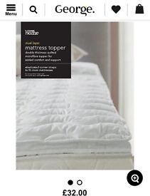 BRAND NEW Matress topper ultra comfort support
