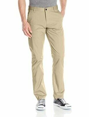 Dockers Men's Alpha On The Go Dress Pants Trousers Stretch Oyster Gray 36W x