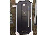 Solidor Rock Door Ultimate Dakota Composite UPV In anthracite grey Front door side door rear door