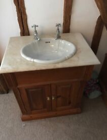 Vintage / antique effect sink / vanity unit