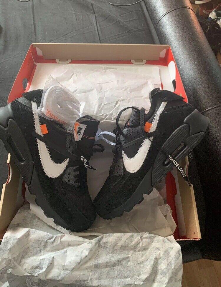 Nike Air Max 90 Off White Uk 8