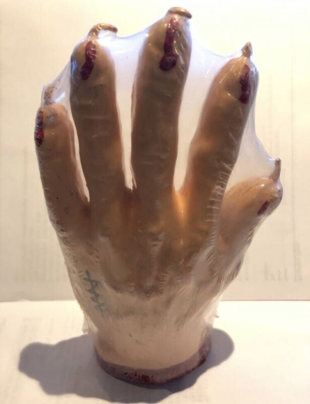 Halloween Bleeding Hand Candle Spooky Horror SEALED NEW Prop Decoration Creepy