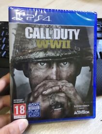 Call Of Duty WWII BRAND NEW PS4