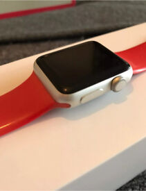 Apple Watch 38MM red sports band