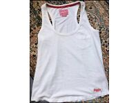 Womens Superdry Vest Top T-Shirt, Medium