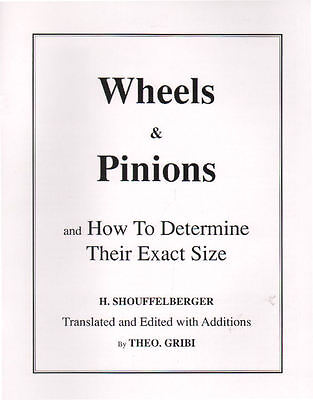 Wheels   Pinions And How To Determine Their Exact Size