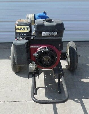 Amt Premium Trash Pump 4210-96 13 Hp Size 4 Npt Bs Motor 245432 W Dolly