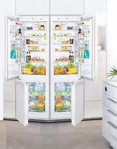 Liebherr HC1000B and HC1001B 48in b/i panel Ready Fridge Freezer call to order (416) 901 7557