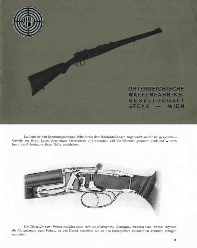 Steyr 1923 Gun Catalog-Wien, Austria