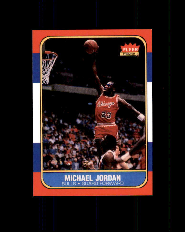 1986-87 FLEER  #57 MICHAEL JORDAN ROOKIE REPRINT