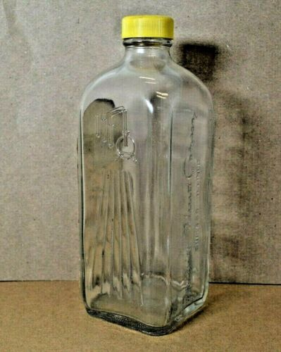 Antique Frigid Fluid Embalming Bottle 5 Purpose Cavity Fluid Bottle Chicago IL