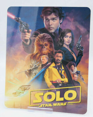 SOLO A STAR WARS STORY - Glossy Bluray Steelbook Magnet Cover (NOT LENTICULAR)