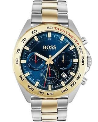 HUGO BOSS® watch Hero Sport Lux Blue Dial Two Colour Bracelet Watch HB 1513667