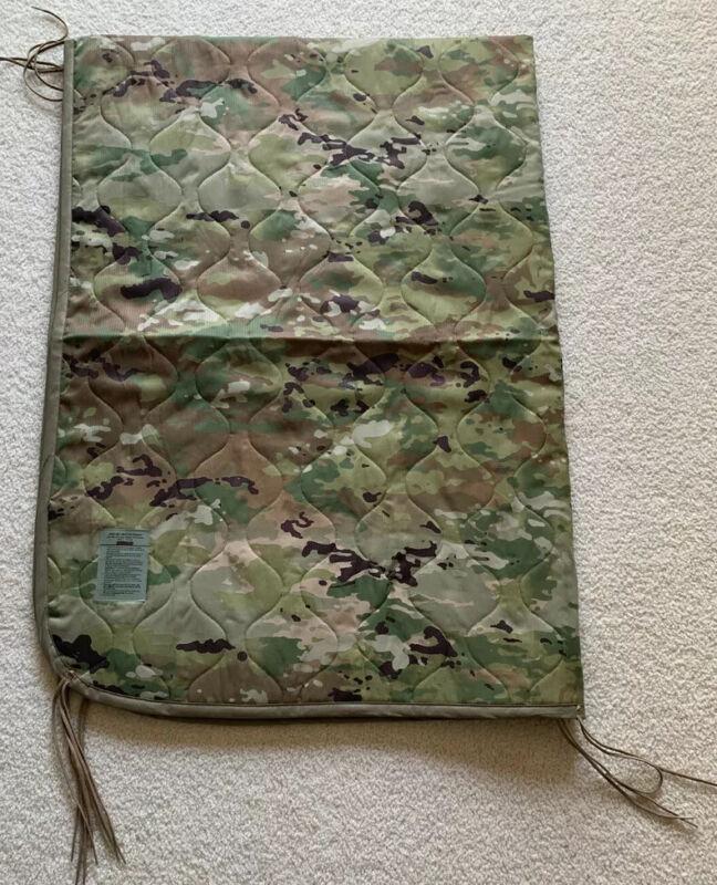 Authentic USGI Military Poncho Liner OCP Scorpio Quilted Woobie Blanket