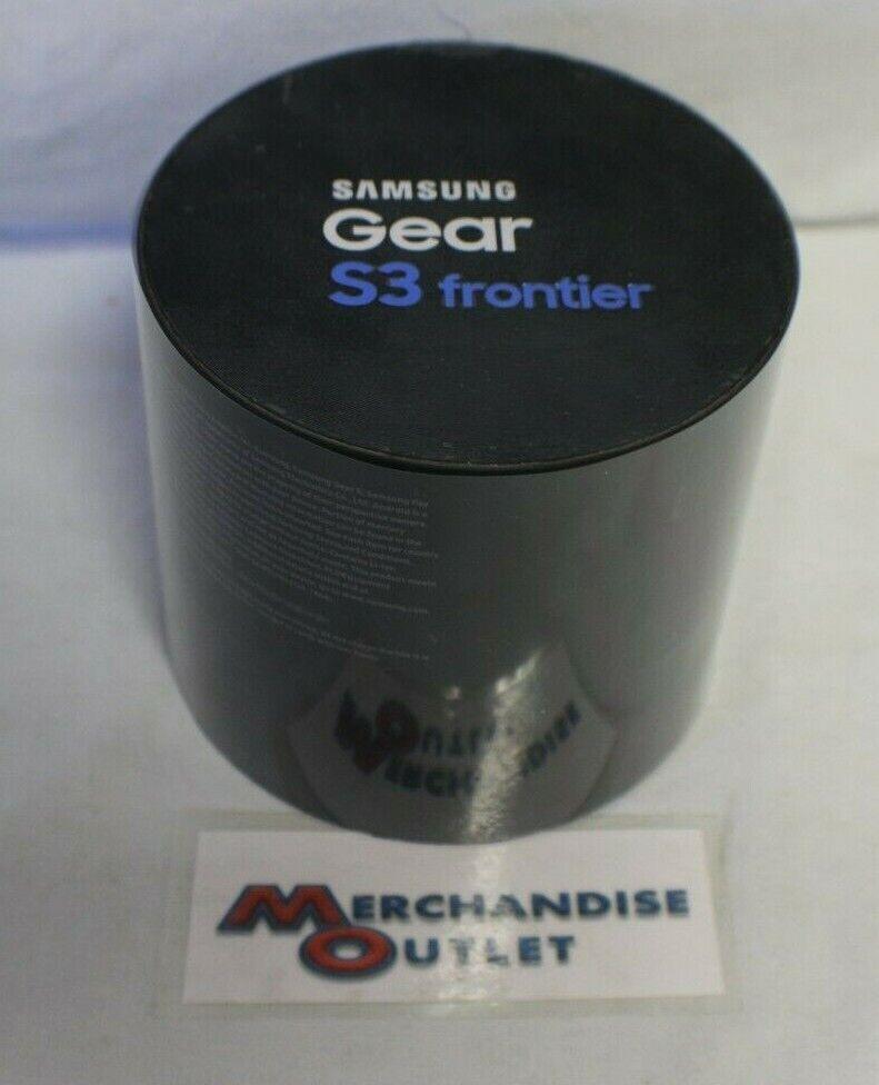 gear s3 frontier 46mm bluetooth smartwatch dark