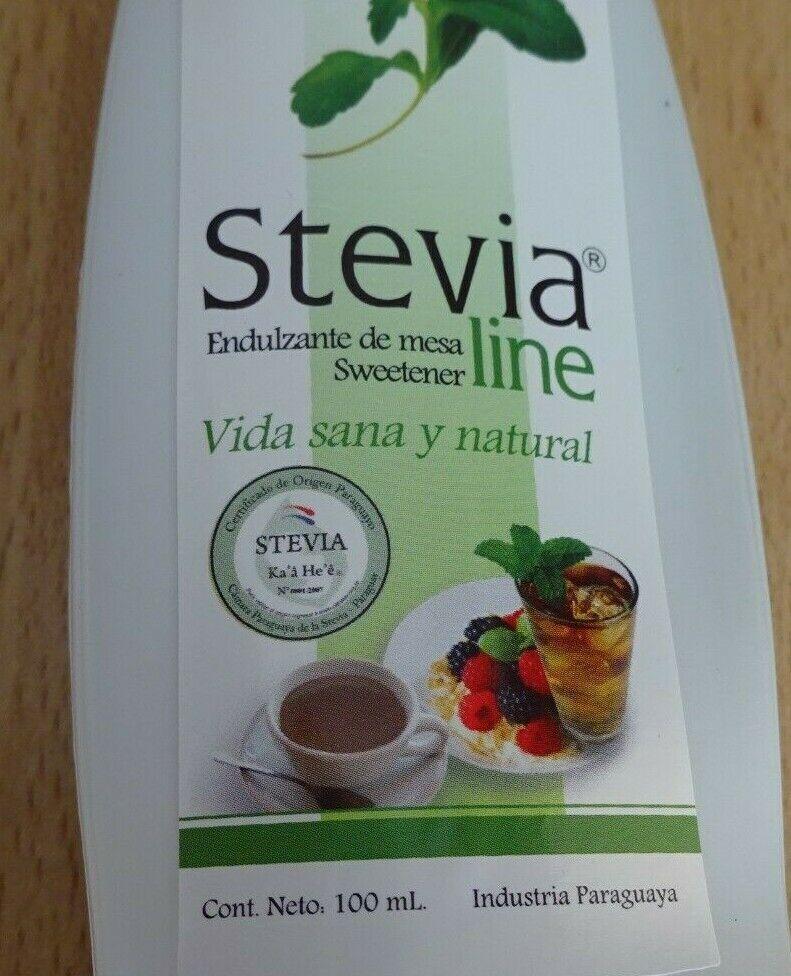 Flüssig Stevia Steviosid 100 % natürlicher Süßstoff extrem ergiebig 100 ml Fl.