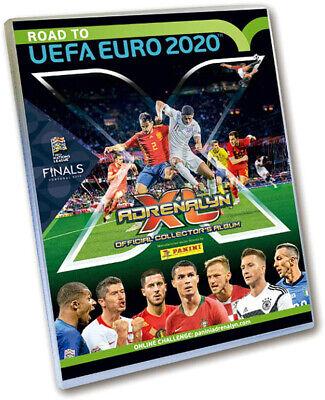 Panini 308958 Sammelkarten Road to Euro 2020 Starterset Sammelordner 5 Booster (Fußball-karte Ordner)