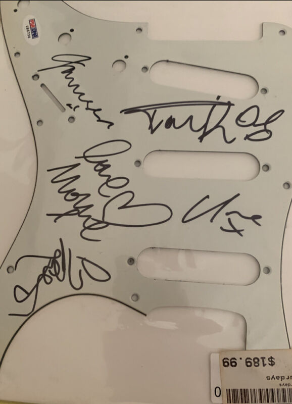 THE SATURDAYS signed autographed Guitar