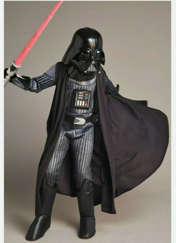 Ultimate Light Up Darth Vader costume from Chasing Fireflies, Size 8/10
