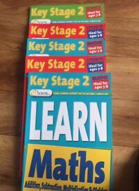 Key stage 2 comprehensive home learning books