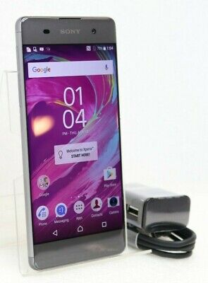 SONY Xperia XA | 16GB 4G (GSM UNLOCKED) Smartphone F3113 | Graphite Black