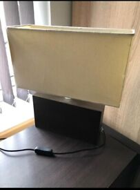 Pair of bedside cabinet matching lamps