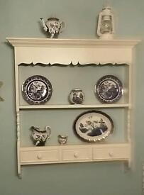 Wall Shelf Display Unit Vintage