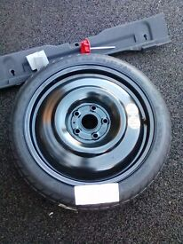 New Bf Goodrich space saver tyre. T125/70D17. Collection PE24 5XA