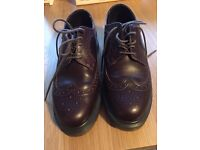 Dr. Martin Brogues .. As new and only worn once .. Cost £75 .. Selling for £35 ono