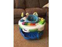 Baby LeapFrog activity station/baby bouncer