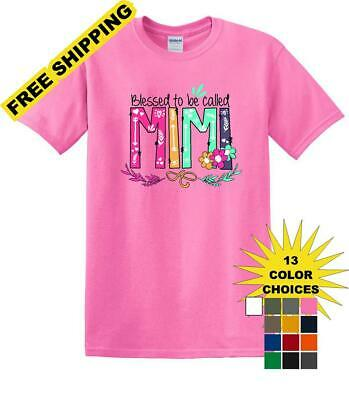 Blessed To Be Called MiMi Shirt For Mother's Day Grandmother Gift -mimis1 - Blessed Day