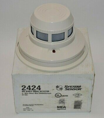 System Sensor 2424 Photoelectronic Smoke Detector 400 Series