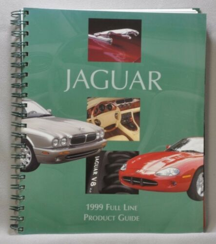 Jaguar 1999 Full Line Product Guide Spiral Bound for Dealers