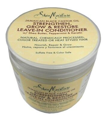 Shea Moisture Leave In Conditioner (Shea Moisture Jamaican Black Castor Strengthen Leave in Conditioner 312g)