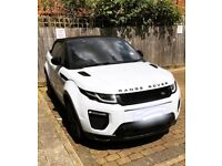 Hire / Rent Range Rover Evoque Convertible 2017 plate - Automatic