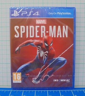 Marvel's Spider-Man - PS4 Game - Spider Man PlayStation 4 - New and sealed