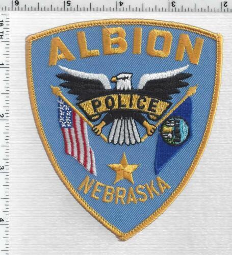 Albion Police (Nebraska) 1st Issue Shoulder Patch