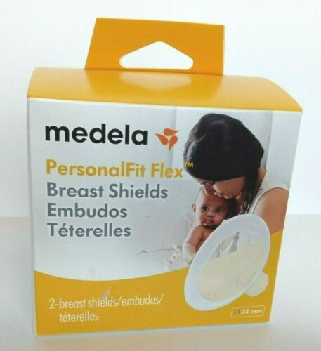 Medela Personal Fit  Flex Breast Shields 2 Count 24mm Brand