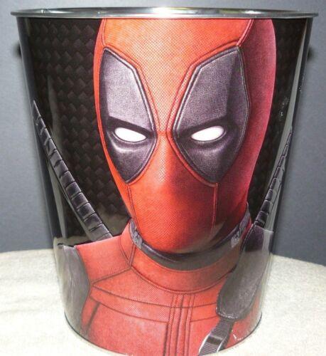 NEW Deadpool 2 Movie Metal Theater Popcorn Tin Bucket 130 oz