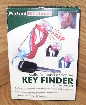Perfect Solutions (PS3944) Golfer's Sound Activated Key Finder With Microlight