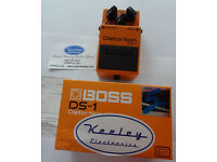 Boss-DS-1 Distortion-Pedal - Keeley modded (As New)
