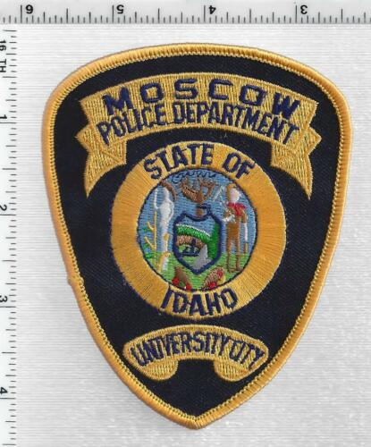 Moscow Police (Idaho) 2nd Issue Shoulder Patch